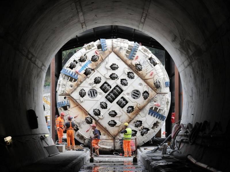 cogeis lavori - tunnelling tbm - lyon turin ferroviaire